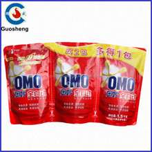 Bag Packaging Bright White Liquid Laundry Detergent for hand wash/automatic washing machine