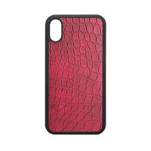 Protective TPU PC Crocodile Skin Sticker Leather Phone Case For iPhone 8