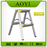 AY china wholesale moblie home trestle ladder step stool ladder
