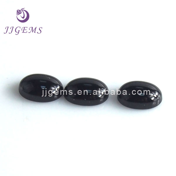 Natural black onyx gems stones