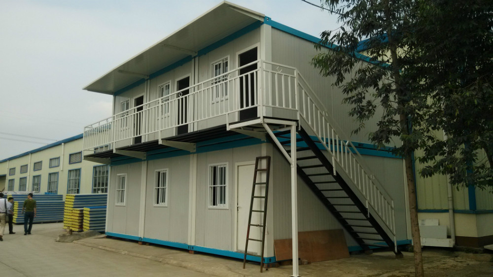 Fabricated container house