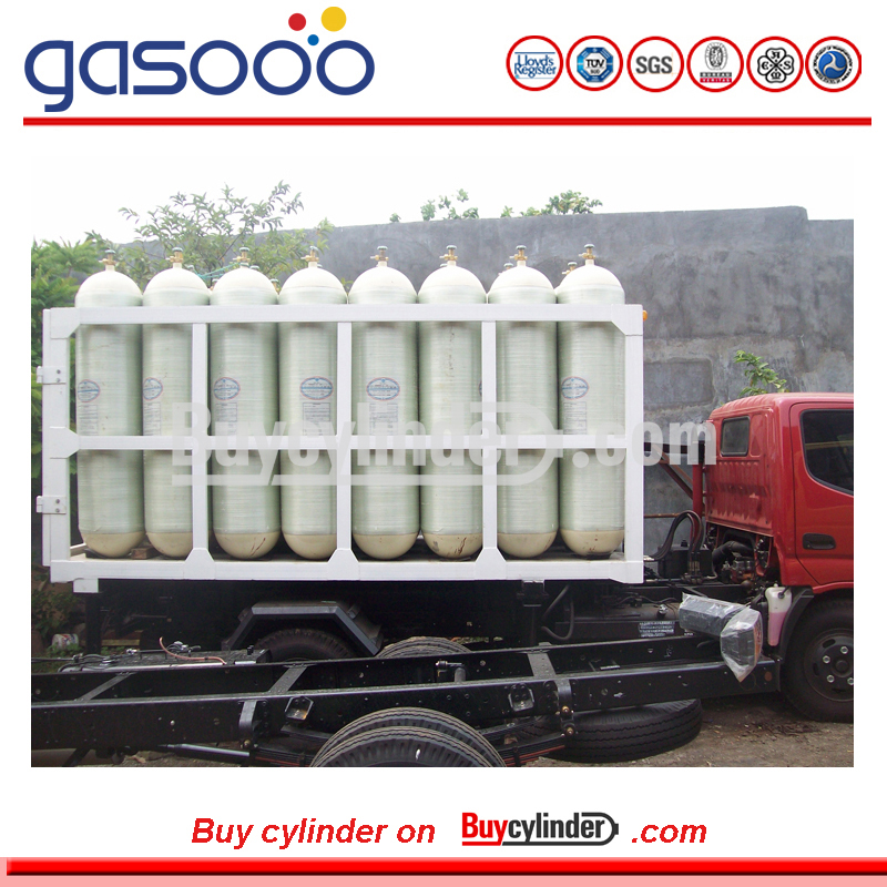 Composite Material CNG Storage Car Use Compressed Natural Gas Cylinders