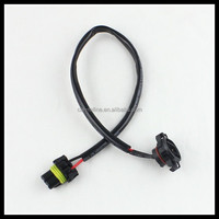 Car light accessories 5202 TO 9006 adapter cable HID Xenon LED H16/5202 to 9006/HB4 Extension Wire Harness Sockets