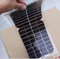 18v small transparent pv module flexible solar panel with mono solar cell