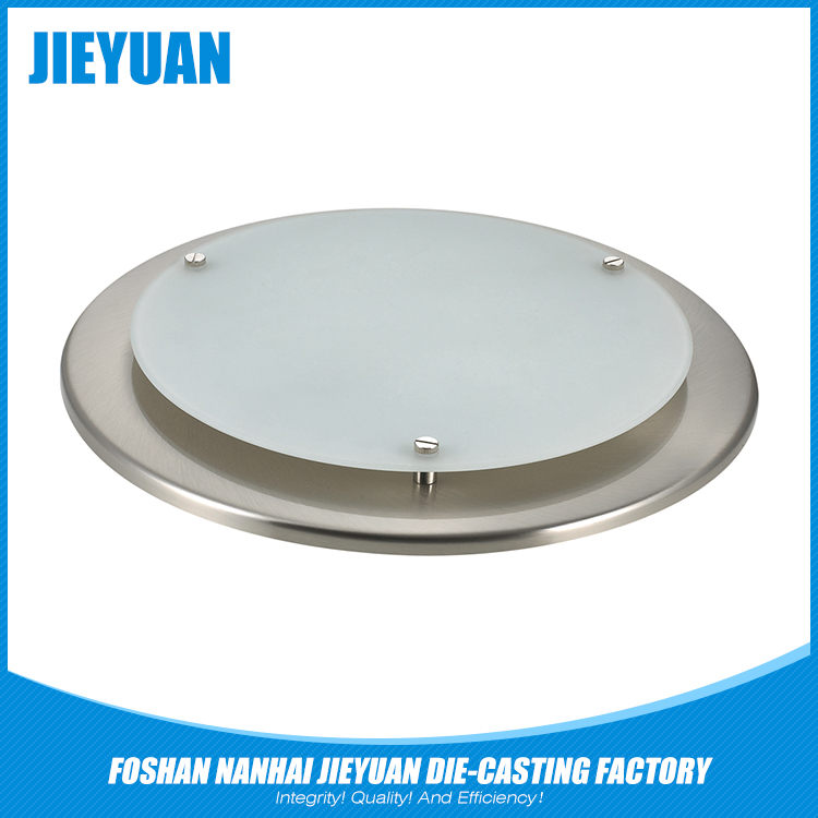 Aluminum die casting single led flood light housing