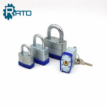 Iron material brass cylinder 6mm shackle Lock