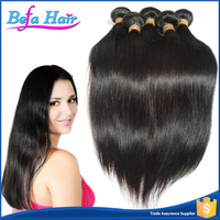 Befa Hair Customized Noble Unprocessed Straight Human hair Weaves Styles