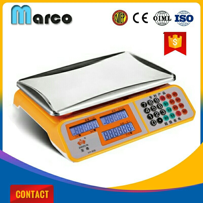 Retail scale computing electronic 40kg price computing parts of a digital scale