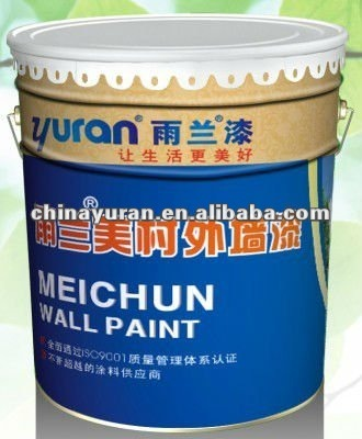Self-Cleaning Elastic Exterior Paint