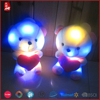 2015 BSCI audit hot sale gift plush toys with light for girls Chinese supplier