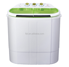 Portable Mini Compact Twin Tub Washing Machine and Spin Cycle Dryer w/ Hose