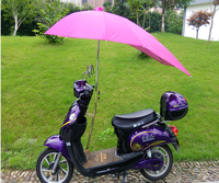Wholesale Windproof and Waterproof Bike Rain Umbrella Electric car Motorcycle umbrella