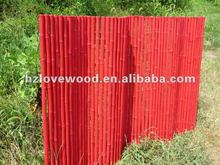 Coloured Bamboo Rolled Fence (PVC Coated)