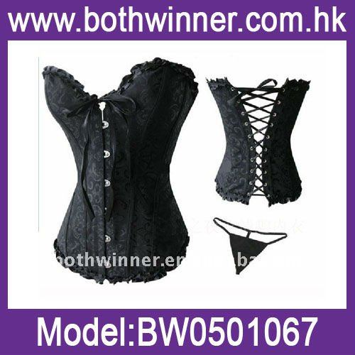 hot sale bustier tops adult sexy corset