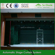 High Quality Flame Fabric Led stage curtain screen/high quality fabric for stage curtain