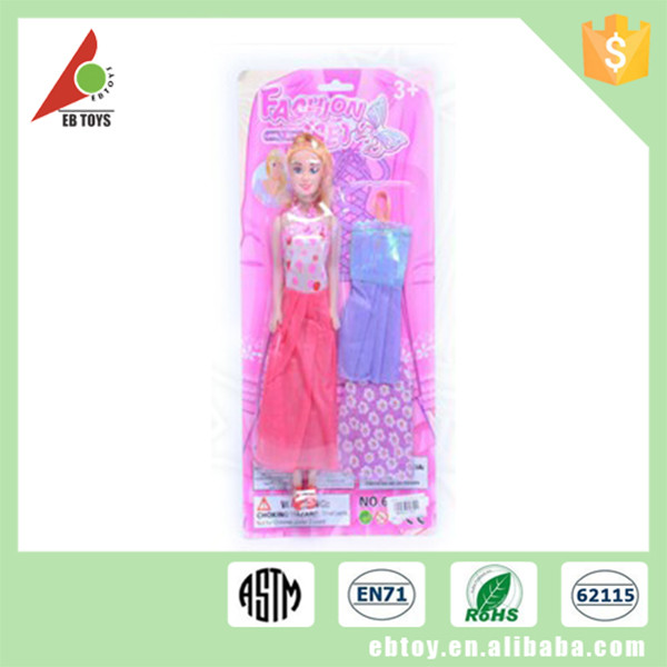 China manufacturer 11.5 inch beautiful fashion girl doll with clothes