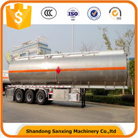 52000L Aluminum 3 Axle Fuel Tanker Semi Trailer with 5 Compartment CIVACON Vapor Recovery System