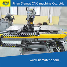 CNC punching press machine for connections plates of steel tower