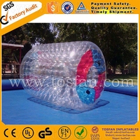 Cheap price inflatable water rolling bubble roller TW399