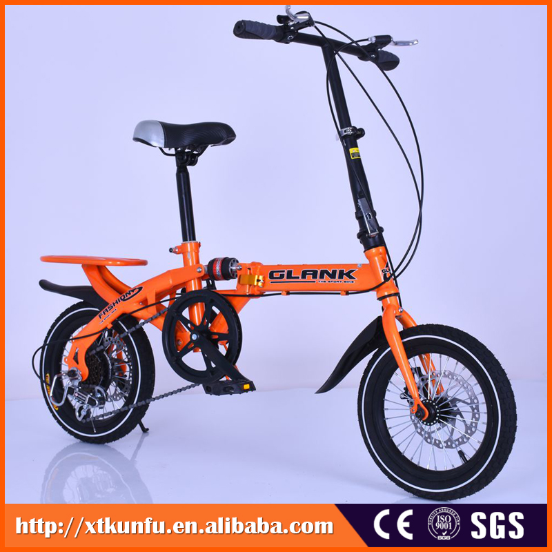 Electrostatic painting beach cruiser bicycle folding with alloy handlebar