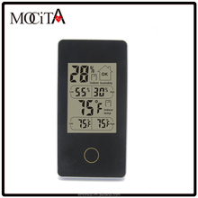 Promotional gift desk Clock Weather Station thermometer,digital Weather Station hygrometer