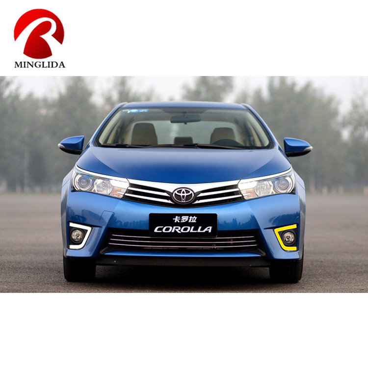 Hot selling led daytime running light drl front lamp for corolla head light 2014 2015 2016