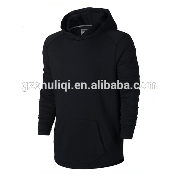 low moq 80 cotton 20 polyester hoodies plain xxxxl hoodies with curved line hem