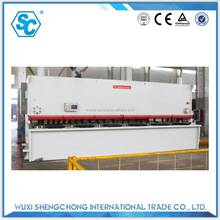 QC12Y 8x4000 iron plate cutting machine for medicine cabinet manufacturing