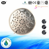 ABS plastic 3 functions classic high pressure rainfall 4 inch shower head