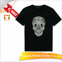180GSM 100 cotton customized wholesale tagless t shirts manufacturing companies