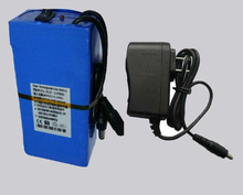 Small Rechargeable 12V Lithium Battery Pack with Switch