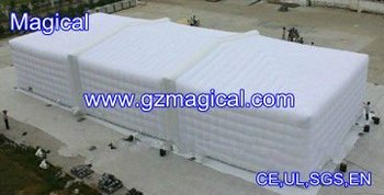Inflatable cube event