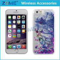 express alibaba china new products 2015 3D printing glitter flowing liquid quicksand star mobile phone case for iphone
