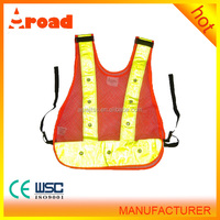 aroad High visibility cheap safety vest for traffic police officer