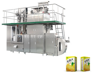 Guangzhou China aseptic beverage brick carton filling machine for drink, milk and juice