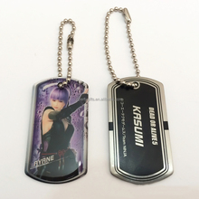 cheap promotational key ring dog tag