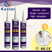 high quality bathroom neutral clear silicone sealant