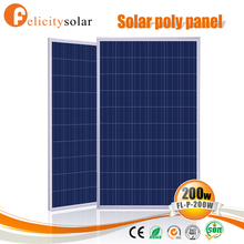 Trade assurance best selling 200w solar panels 12v for Sudan