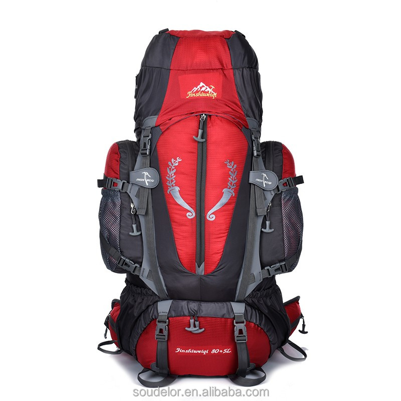 2018 new products outdoor travel pack climbing hiking backpack 85L wholesale multifunctional sport <strong>bag</strong>