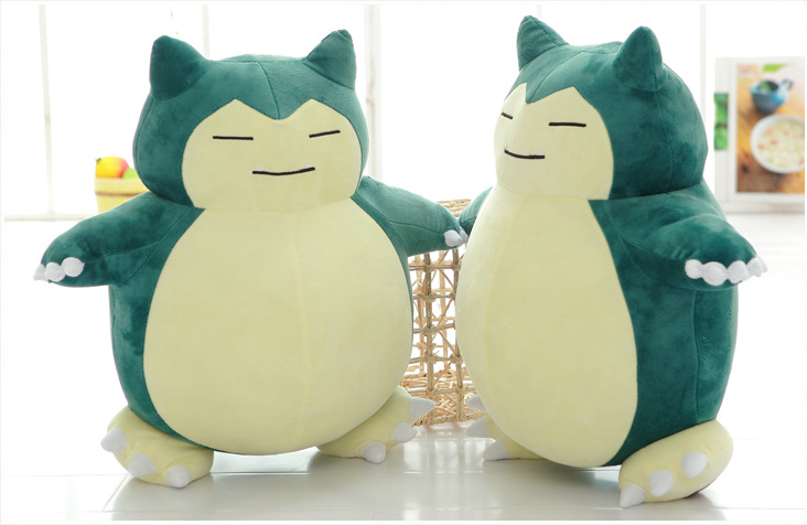 large plush animals, large plush Snorlax Pokemon, large plush stuffed Pokemon go