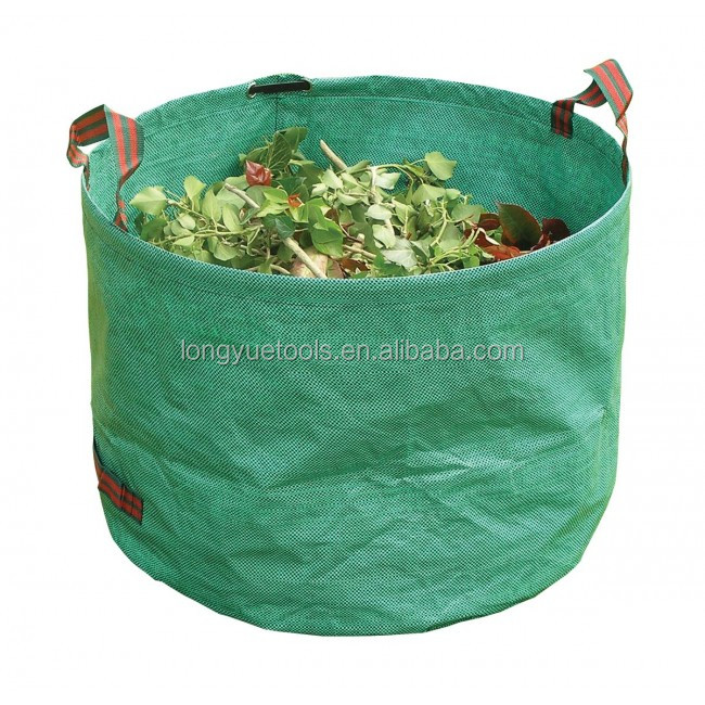 large tip bags garden leaves waste dust bin clean weeds handles recyle collect