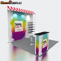 Quick Assemble Tradeshow Product Exhibition Booth Display Stand Portable Booth Exhibition Trade show Display 10x10