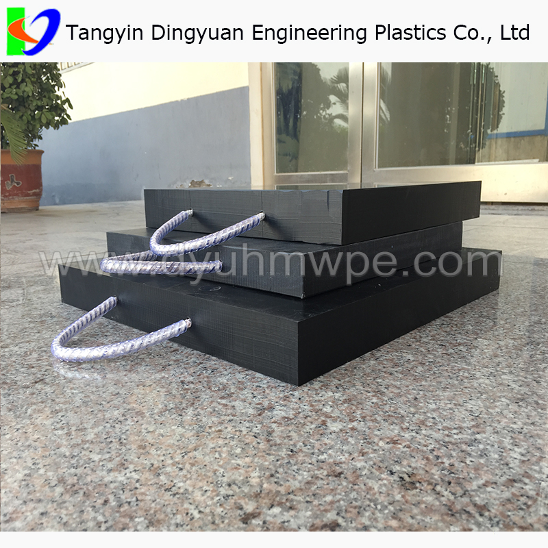 track support mat/Plastic Crane Outrigger Pads / UHMWPE Outrigger Pads