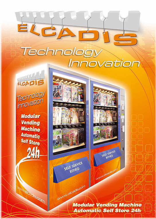 vending Machine for e-liquid, electronic cigarettes and accessories