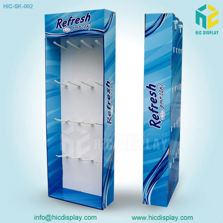 HIC customized display boxes, round hanging display rack