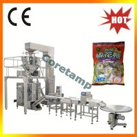 Vertical Full Automatic Candy Weighting and Packaging Machine