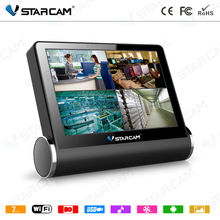 DVR with Touch Screen P2P Network Video Server NVS Center Software in CCTV