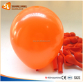 Orange Color Balloon for Party Decoration, 7inch Size, Helium Quality Round Helium Balloon