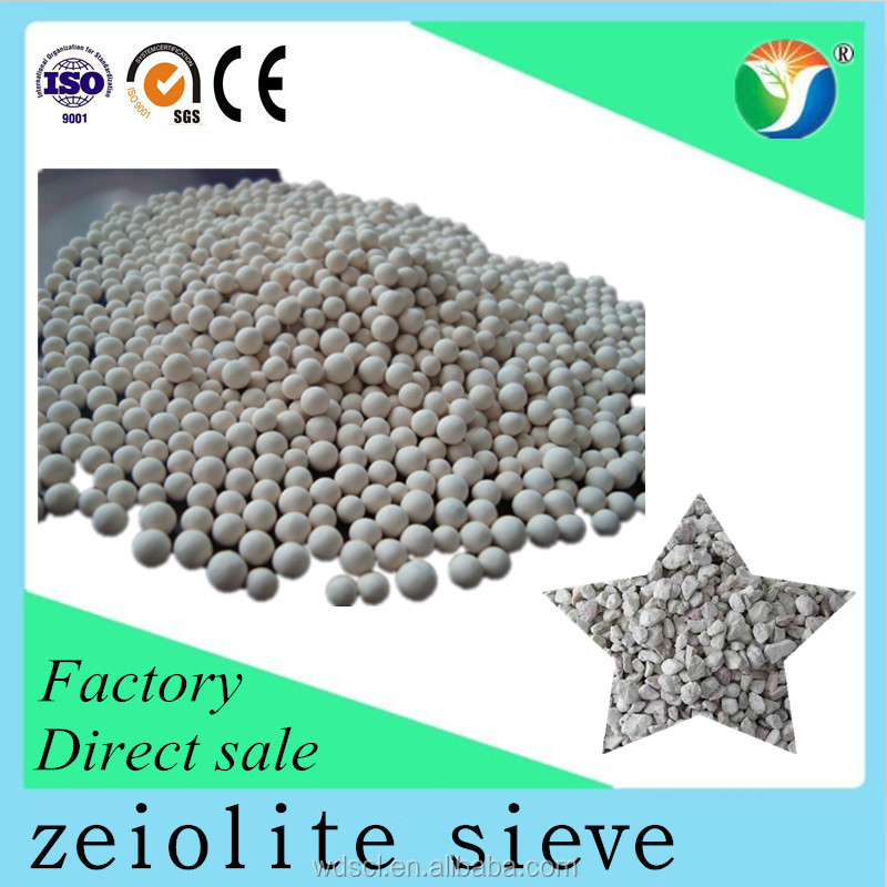 Molecular sieve ball zeolite 4a for high adsorption,lowest price
