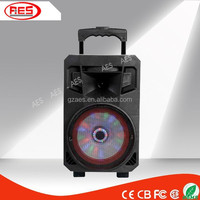 15 inch woofer speaker portable powerful pa speaker rechargeable active speaker